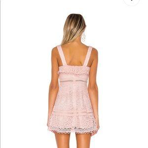 Lovers + Friends Dresses - NWT Lovers + Friends Happy Hour Mini Dress Pink